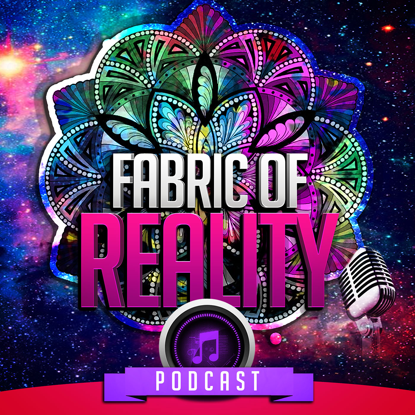 Welcome to the fabric of reality podcast for The fabric of reality